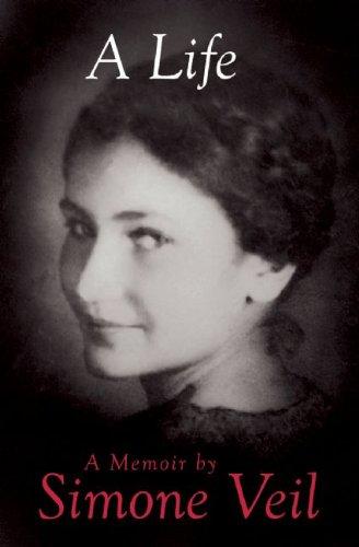 A Life: A Memoir by Simone Veil
