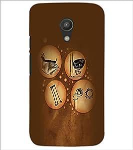 PrintDhaba Funny Image D-3961 Back Case Cover for MOTOROLA MOTO G2 (Multi-Coloured)