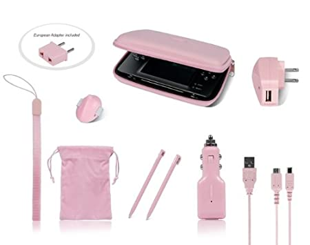DS/DSi 9-in-1 Travel Kit- Pink