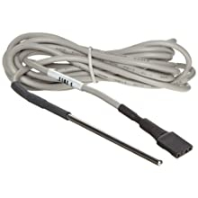 "Oakton WD-35710-70 Stainless Steel External Temperature Probe For TempLog Dataloggers, 0.25"" Diameter x 3.25"" Length"