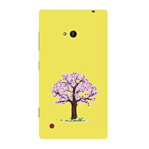 Skin4gadgets Autumn Tree Colour - Light Golden Rod Phone Skin for LUMIA 720