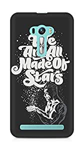 Amez designer printed 3d premium high quality back case cover for Asus Zenfone Selfie (We are all made of stars)