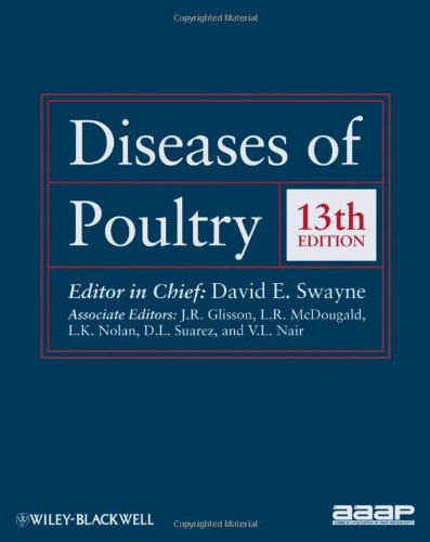 Pdf diseases of poultry 12th edition.
