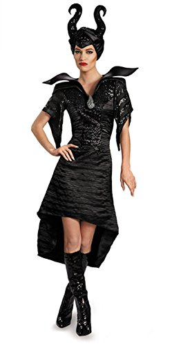 Halloween 2017 Disney Costumes Plus Size & Standard Women's Costume Characters - Women's Costume CharactersDisguise Women's Disney Maleficent Movie Maleficent Christening Deluxe Women's Glam Gown Costume