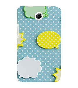 EPICCASE clouds and stars Mobile Back Case Cover For Lenovo S880 (Designer Case)