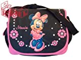 Disney Minnie Mouse Messenger School Bag and Bonus Pencil Case Set