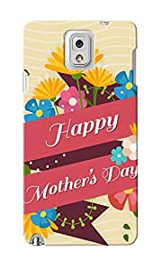 KnapCase Happy Mother's Day Designer 3D Printed Case Cover For Samsung Galaxy Note 3
