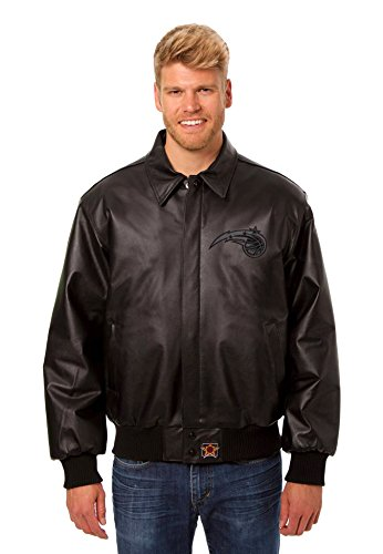 Orlando Magic Leather Bomber Jacket (XX-Large) (Amway Decal compare prices)