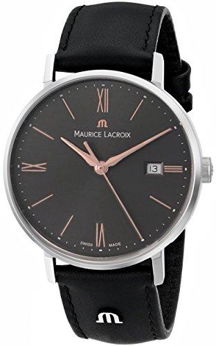 Maurice Lacroix para mujer el1084 - SS001 -811 de cuarzo analógica Eliros analógico reloj de Hombre de estilo