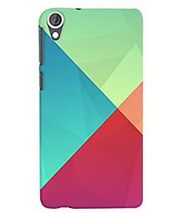 Citydreamz Colorful Pattern Hard Polycarbonate Designer Back Case Cover For HTC DESIRE 826/ HTC DESIRE 826 (CDMA+GSM)
