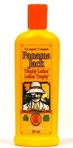 Panama Jack Trophy Lotion, Full Sun No Sunscreens, 237 Ml / 8 Oz (Pack of 3)