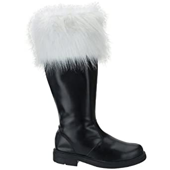 Professional Santa Boots Large (12-13) Costume Accessory