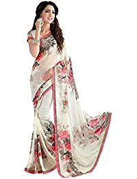 Amazon Georgette Sarees Sale, Offer Prices - Buy Below 500 & 300 Rupee