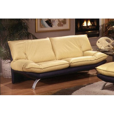 Best buy princeton leather sofa color navajo blue for Best place to buy a leather sofa