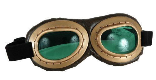 Aviator Costume Goggles Motorcycle Costume Tank Goggles Steampunk Goggles 28302