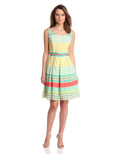 Tiana B Womens Candy Fit and Flare Dress