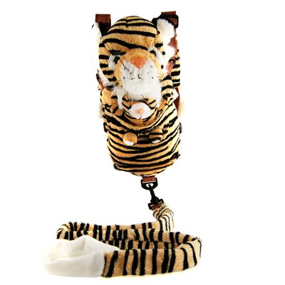Adorable Stuffed Animal Baby Leash Bag Secure Harness Tiger