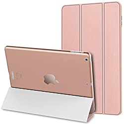 JETech iPad Air Case Slim-Fit Smart Case Cover for Apple iPad Air iPad 5 w/Auto Sleep/Wake (Rose Gold)