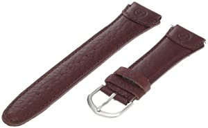 Timex Men's Q7B801 Expedition Sport Genuine Leather 20mm Brown Replacement Watchband