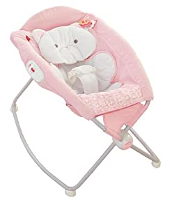 Fisher Price My Little Snugakitty Deluxe Rock N Play Sleeper