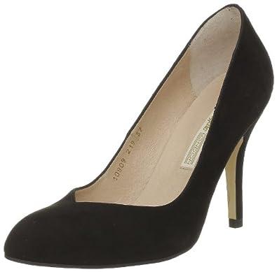 Buffalo 10809-219 Suede, Escarpins femme - Noir (Black Suede), 36 EU