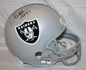 Marcus Allen Autographed Helmet - Full Size Oakland W - JSA Certified - Autographed... by Sports Memorabilia
