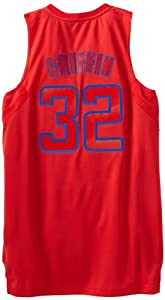NBA Los Angeles Clippers Winter Court Big Color Swingman Jersey, #32 Blake Griffin, Red, Medium