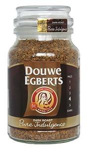 Douwe Egberts Pure Indulgence Instant Coffee in Jar, Dark Roast, 7.05-Ounce, 200g
