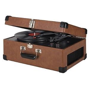 Crosley CR49 Traveler Portable Turntable (Tan)
