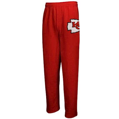 NFL Kansas City Chiefs Youth Red Touchdown Fleece Pants (Medium) at Amazon.com