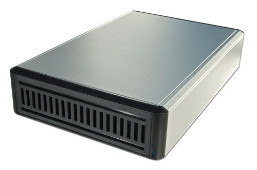 LINDY eSATA USB  &  FireWire 400 Drive Enclosure for BD/DVD/CD Drives Aluminium