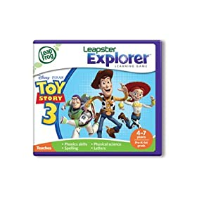 LeapFrog� Leapster Explorer? Learning Game:  Toy Story 3