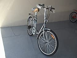 "Bestco Folding Bike,24""wheels,3 Speeds -SILVER by Bestco Products"