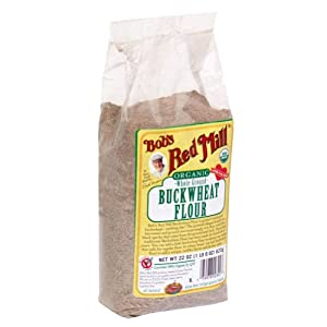 Bob's Red Mill Buckwheat Organic, 22-ounces (Pack of4)