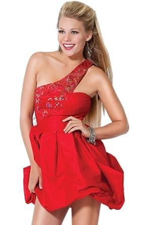 Jovani Beyond 465, Short one shoulder Prom dress