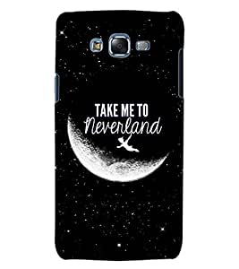 ColourCraft Quote Design Back Case Cover for SAMSUNG GALAXY J5