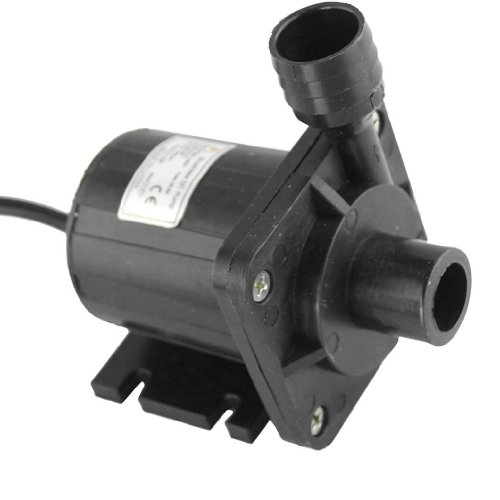 Dehang Dc50B-24130A Dc 24V Brushless Speed Adjustable Oil Water Pump 1600L/H Magnetic Drive Centrifugal Submersible 13M/42.6Ft 3.6A 86.4W