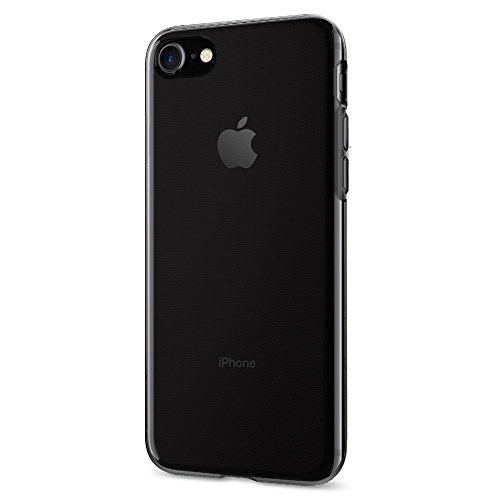 Spigen Liquid Crystal iPhone 7 Case with Jet Black Optimized Color and Premium Semi-transparent Protection for iPhone 7 2016 - Space Crystal