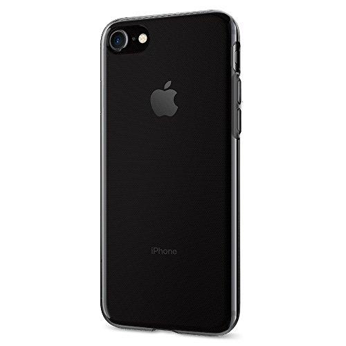 Funda iPhone 7, Spigen [Liquid Crystal] Funda Claro Cristal [Space Crystal] Ultra fino de primera calidad semitransparente / Ajuste exacto / suave de la caja delgada, Funda Apple iPhone 7 (042CS20846)
