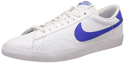 Nike Tennis Classic Ac Scarpe da tennis, Uomo, Multicolore (Blanco / Azul (White / Racer Blue-Loyal Blue)), 43
