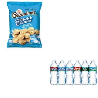 kitlay45095nle101243-value-kit-frito-lay-inc-mini-vanilla-crme-sandwich-cookies-lay45095-and-nestle-