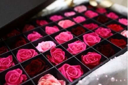 生花【ローズバス プレミアムローズコレクション】バラ50輪が優雅に香り飾れ、ばら風呂でリラックスタイムを、薔薇のプレゼント・贈り物・ギフトに、母の日、誕生日祝い、結婚記念日に、長寿祝いに、お中元に