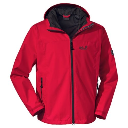 Jack Wolfskin VORTEX JACKET MEN red fire