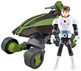 Ben 10 Aerotech Vehicle inc Figure Buggy De Ben Alien Force