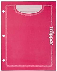 Trapper Folder, 2-pocket, Paper, Pink (72195)