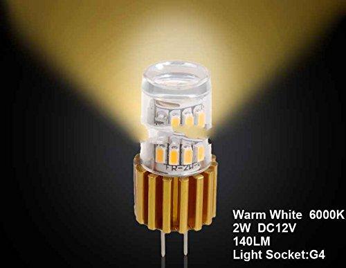 Generic G4 2W 24 X 3014Smd Warm White Car Led Light