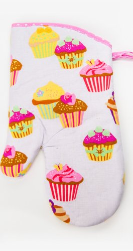 Buy Flirty Aprons Oven Mitt, Frosted Cupcake save