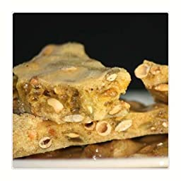 Pumpkin Pie Brittle (8 oz bag) made with Pumpkin Seeds (Pepitas) and Seasonal Spices. It\'s a perfect taste of the holidays!