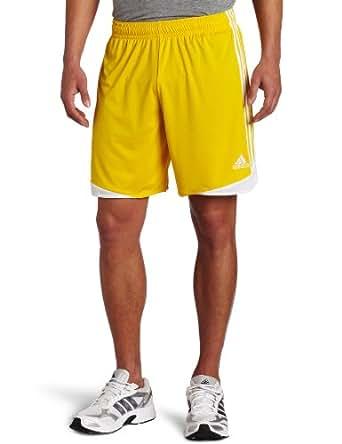 adidas Men's Tiro 11 Short, Sunshine/White, Small