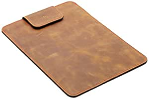 "germanmade. Apple MacBook Air 13"" Hülle aus Leder camel / hellbraun"